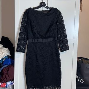 The Limited Gorgeous Black Lace Dress Size 4